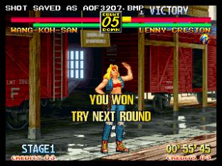 Art of Fighting 3 Neo Geo 31