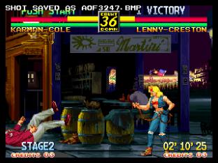 Art of Fighting 3 Neo Geo 34