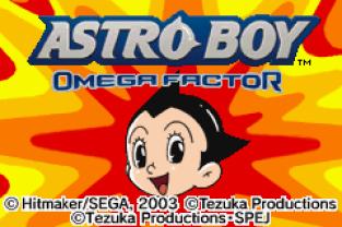 Astro Boy Omega Factor GBA 01