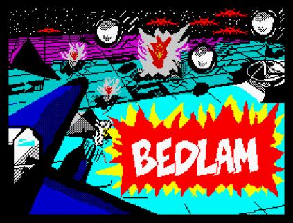 Bedlam ZX Spectrum 01