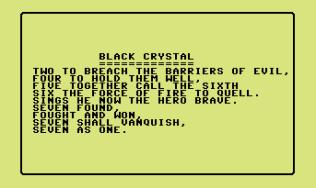 Black Crystal C64 01