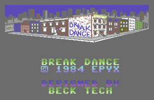 Break Dance C64 01