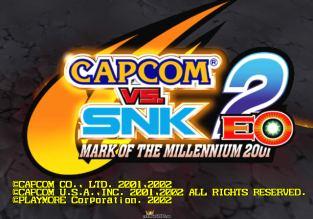 Capcom vs SNK 2 EO XBox 01