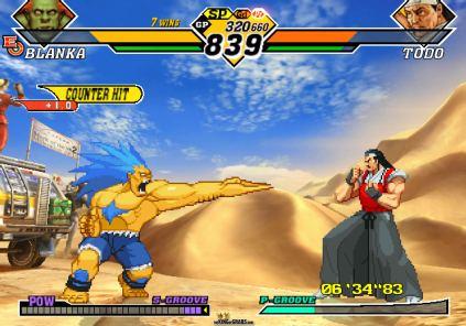 Capcom vs SNK 2 EO XBox 53