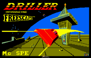 Driller Amstrad CPC 01