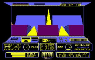 Driller Amstrad CPC 09