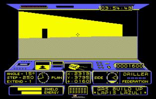 Driller Amstrad CPC 12