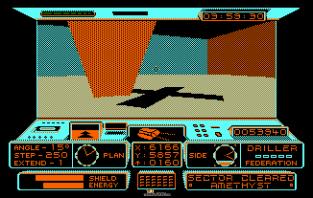Driller Amstrad CPC 20