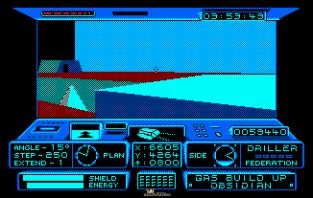 Driller Amstrad CPC 31