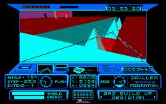 Driller Amstrad CPC 32