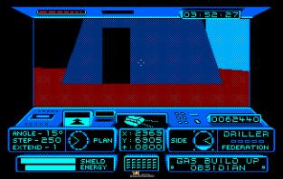 Driller Amstrad CPC 34