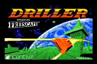 Driller Atari ST 01