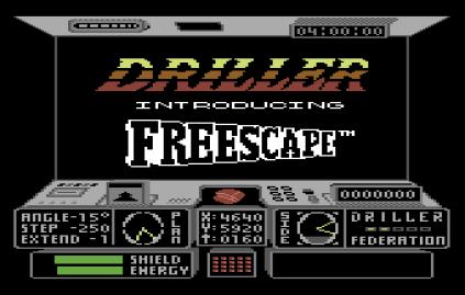 Driller C64 01