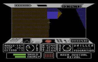 Driller C64 11