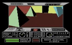 Driller C64 22