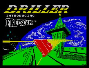 Driller ZX Spectrum 01