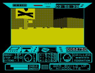 Driller ZX Spectrum 09