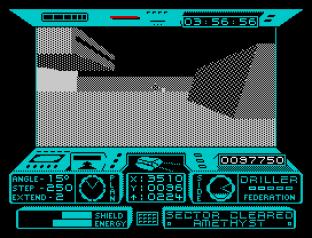Driller ZX Spectrum 12