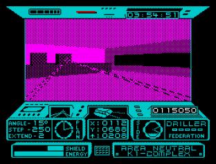 Driller ZX Spectrum 20