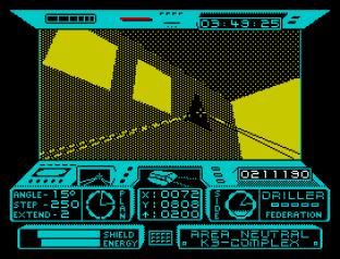Driller ZX Spectrum 31
