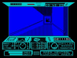 Driller ZX Spectrum 34