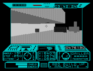 Driller ZX Spectrum 42