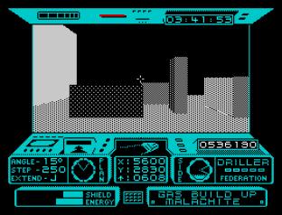 Driller ZX Spectrum 45