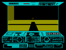 Driller ZX Spectrum 54