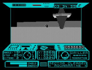 Driller ZX Spectrum 56