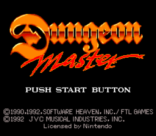 Dungeon Master SNES 01