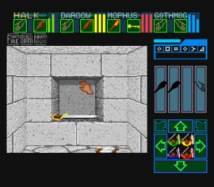 Dungeon Master SNES 34