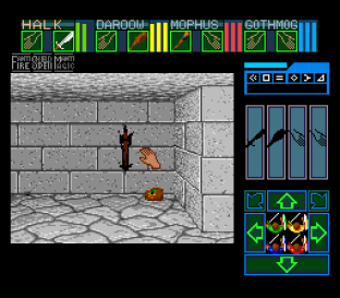 Dungeon Master SNES 56