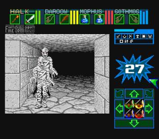 Dungeon Master SNES 75