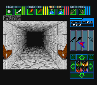 Dungeon Master SNES 78
