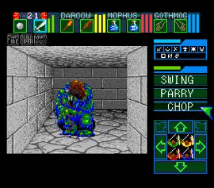 Dungeon Master SNES 86