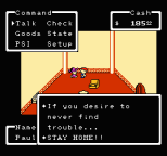 EarthBound NES 101