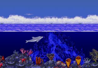 Ecco the Dolphin Megadrive 01