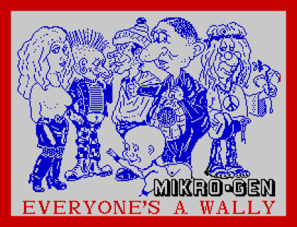 Everyone's A Wally ZX Spectrum 01