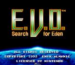 EVO - Search for Eden SNES 002