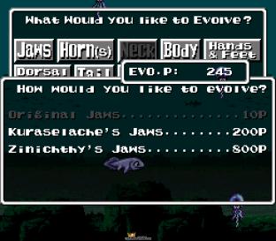 EVO - Search for Eden SNES 009