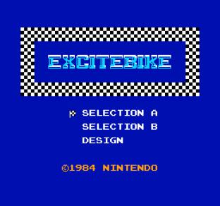 Excitebike NES 01
