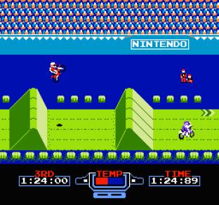 Excitebike NES 34