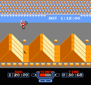 Excitebike NES 42