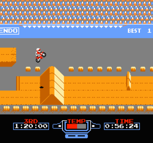 Excitebike NES 45