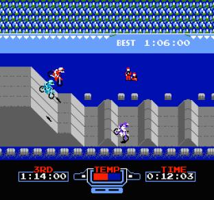 Excitebike NES 53