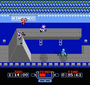 Excitebike NES 56