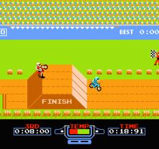 Excitebike NES 70