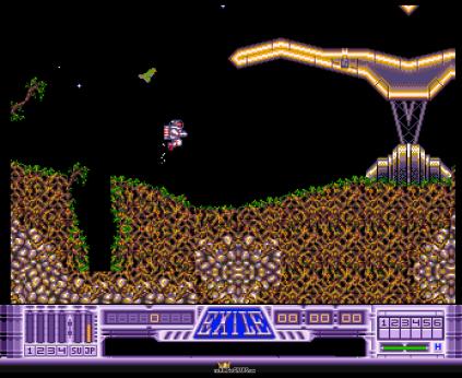 Exile Amiga 1991 Audiogenic OCS version 09