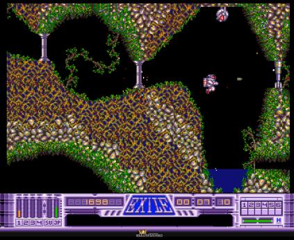 Exile Amiga 1991 Audiogenic OCS version 20