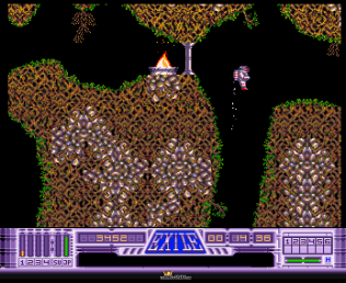 Exile Amiga 1991 Audiogenic OCS version 33
